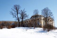 Pavlovsk palace. Pavlovsk. Park and Palace royalty free stock image