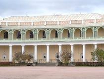 Pavlovsk Palace - summer palace of Emperor Paul I in Pavlovsk, St Petersburg , Russia. Pavlovsk, Russia October 23, 2017: Pavlovsk Palace - summer palace of royalty free stock photo