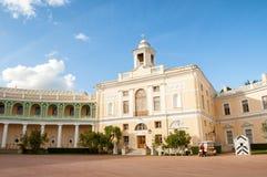 Pavlovsk Palace - summer palace of Emperor Paul I in Pavlovsk, St Petersburg , Russia. Pavlovsk, St Petersburg, Russia - September 21, 2017. Pavlovsk Palace stock photo