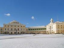 Pavlovsk. Panorama of the Big palace Stock Photography