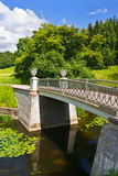 Pavlovsk Park Royalty-vrije Stock Afbeelding
