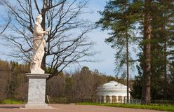 Pavlovsk Park Royalty Free Stock Photos