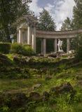 Pavlovsk Park Apollo colonnade in Saint-Petersburg Russia Royalty Free Stock Photos