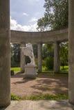 Pavlovsk Park Apollo colonnade in Saint-Petersburg Russia Royalty Free Stock Photo