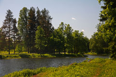 Pavlovsk Park Stock Images