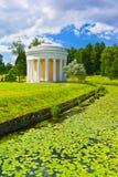 Pavlovsk Park. Rusland Stock Afbeelding