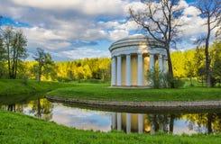 Pavlovsk parkerar Fotografering för Bildbyråer