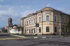 PAVLOVSK, RUSIA - 24 DE ABRIL DE 2017: una casa mercantil Foto de archivo libre de regalías
