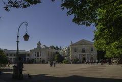 Pavlovsk, Russia, il 30 maggio 2015 - palazzo di Pavlovsk fotografia stock libera da diritti