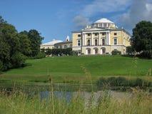 Pavlovsk slott, St Petersburg, Ryssland, Nordeuropa Arkivfoto