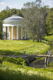 Pavlovsk, St. Petersburg, Russia. Temple of friendship in the Park of Pavlovsk south of St. Petersburg, Russian Federation Stock Image