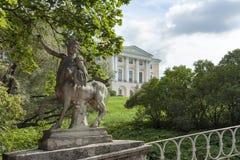 Pavlovsk statua centaur Fotografia Royalty Free
