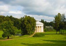 Pavlovsk Tempio di amicizia Immagine Stock Libera da Diritti