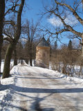 Pavlovsk. View on Pil a tower Royalty Free Stock Images