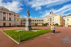 Pavlovskiy宫殿, Pavlovsk,圣彼德堡 免版税图库摄影
