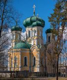 Pavlovsky Cathedral. Gatchina, Russia. Stock Photo
