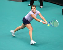 A. PAVLYUCHENKOVA (RUS) at Open GDF Suez 2010 Stock Images