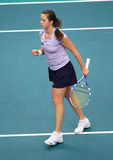 A. PAVLYUCHENKOVA (RUS) at Open GDF Suez 2010 Royalty Free Stock Photo