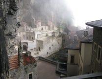 Pavo de Sumela Monastery Trebisonda Fotos de archivo