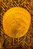 Pavo real de oro Fotografía de archivo