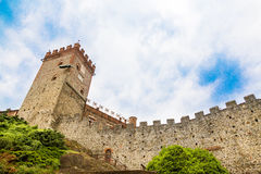 Pavone Canavese Castle, 28 May 2016. Beautiful Castle in Piedmon Stock Images