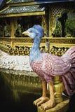 Pavone nella città antica di Bangkok Fotografia Stock Libera da Diritti