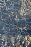 Pavés ronds de pavage urbains Photos libres de droits