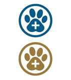 Paw animal footprint. sign Royalty Free Stock Photo