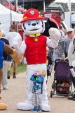 Paw Patrol featival mascots Stock Photo