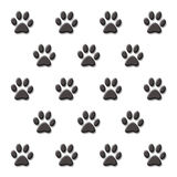 Paw print Stock Photos