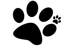 Paw Print libre illustration