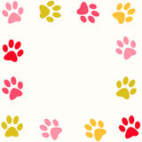 Paw print Royalty Free Stock Images