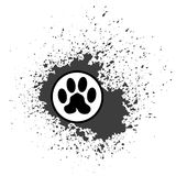 Paw Print Icon Royalty Free Stock Images