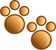 Paw print icon or syymbol vector illustration