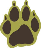 Paw Print Stock Images