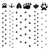 Paw Print. Vector illustration (EPS 10 Royalty Free Stock Images