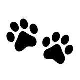 Paw prints Stock Images