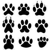 Paw Prints royalty illustrazione gratis