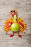Paw robić jabłko i pomarańcze zdjęcie stock