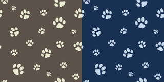 Paw texture bicolor Royalty Free Stock Image