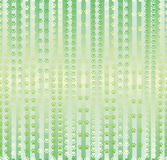Paw vertical meadow run motion seamless pattern. This illustration is design abstract many paws in green stripe meadow run, walk and stay in seamless pattern Stock Photos