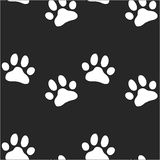 Paw zoo pattern for animal and textile. Paw zoo pattern. Illustration for zoo design Royalty Free Stock Image