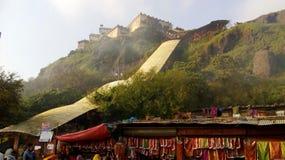 Pawagarh印度风景 免版税库存图片