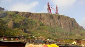 Pawagarh Индия Стоковые Изображения RF