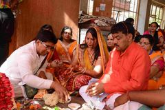 Pawan Goyal社会工作者 库存图片