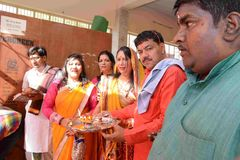 Pawan Goyal社会工作者 库存照片