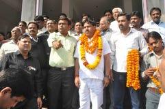 Pawan Goyal President de Agarwal Samaj Samiti foto de stock royalty free