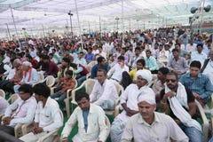 Pawan Goyal President de Agarwal Samaj Samiti fotos de stock