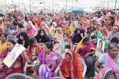 Pawan Goyal President de Agarwal Samaj Samiti imagens de stock