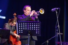 Pawel Panta at Kaunas Jazz 2015 Royalty Free Stock Photography